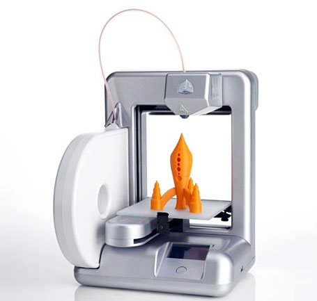 Cubify Cube 3d Printer Silver