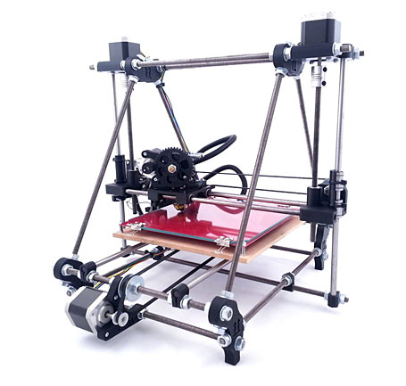 RepRap Prusa Mendel Iteration 2 Complete 3D Printer Kit