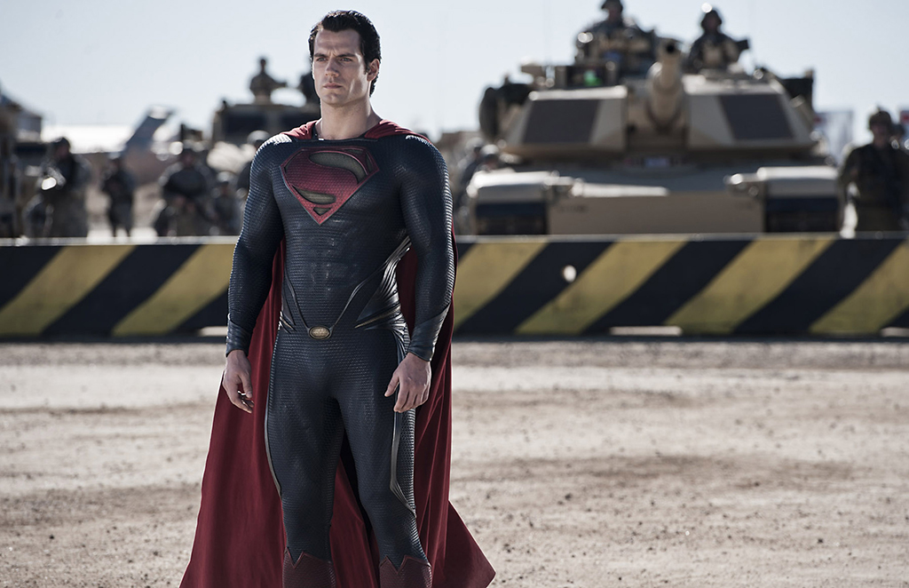 Was Superman's suit printed on a 3D printer?