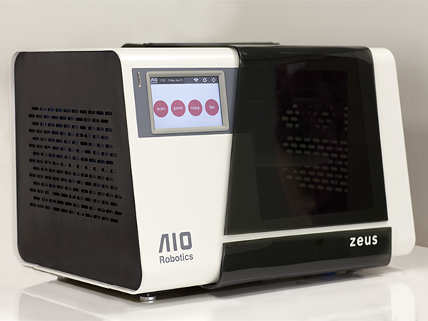 3D Faxing with the Zues by AIO Robotics