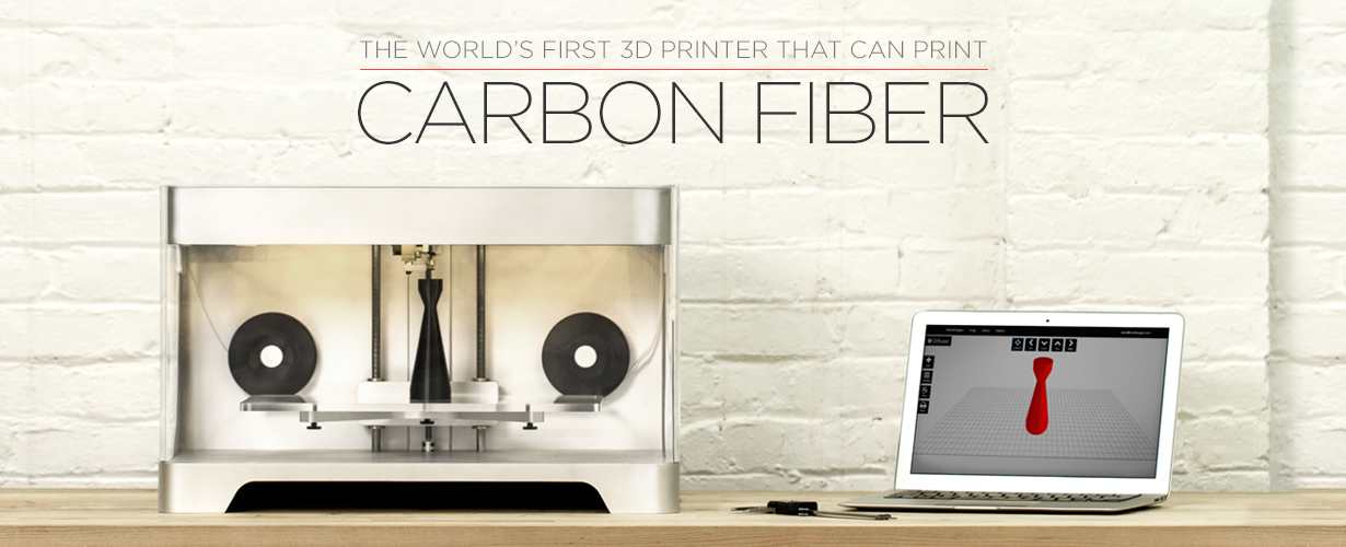 Print Carbon Fiber at Home, the MaxForged 3D Printer